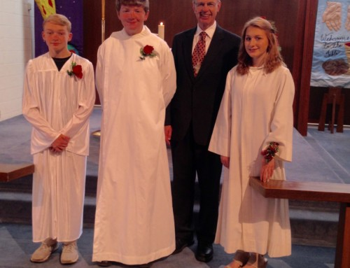 The Gift of the Holy Spirit and Our Newest Confirmands